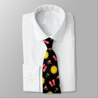 Corbatas Personalizadas Vacaciones de las sandalias de Sun del velero