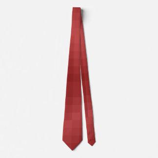 Corbatas Píxel Rojo