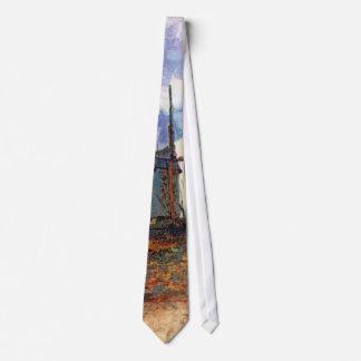 Corbatas Van Gogh - molino de viento de Galette del La de