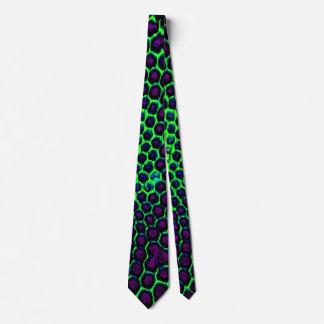 Corbatas Verde púrpura observado insecto del panal