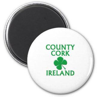 Corcho del condado, Irlanda Imanes
