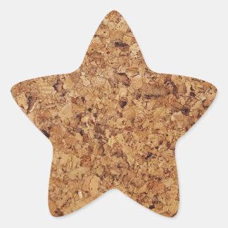 Corcho Pegatina En Forma De Estrella