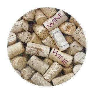 Corcho-Vino del vino Tablas Para Cortar