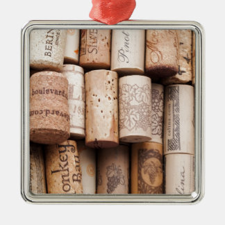 Corchos de la botella de vino adornos de navidad