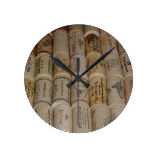 Corchos Reloj De Pared