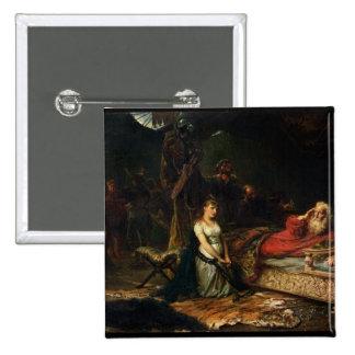Cordelia y rey Lear (aceite en lona) Pins
