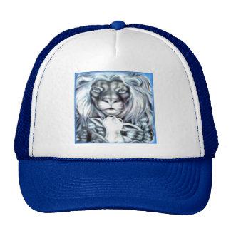 Cordero del león gorra