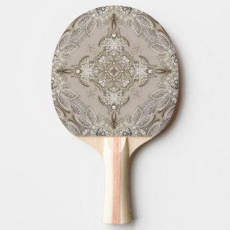 Cordón atractivo del diamante artificial de Gatsby Pala De Ping Pong