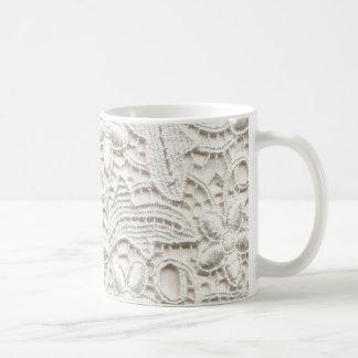 Cordón del boda taza de café