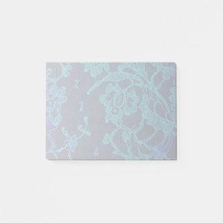 Cordón gótico de los azules marinos del Victorian Notas Post-it®