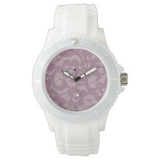 Cordón violeta relojes