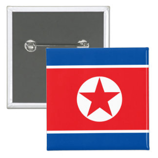 Corea del norte chapa cuadrada