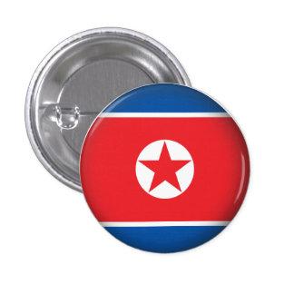 Corea del Norte redonda Chapa Redonda De 2,5 Cm