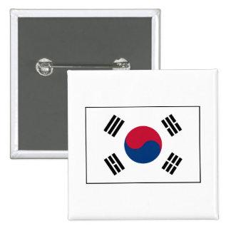 Corea del Sur - bandera surcoreana Pin
