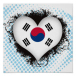 Corea del Sur del amor del vintage I Impresiones