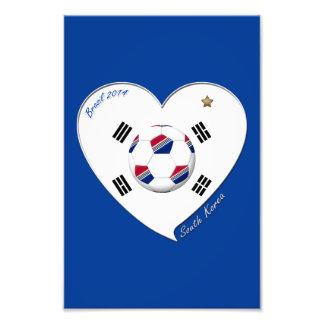 COREA DEL SUR FÚTBOL bandera equipo nacional 2014 Fotos