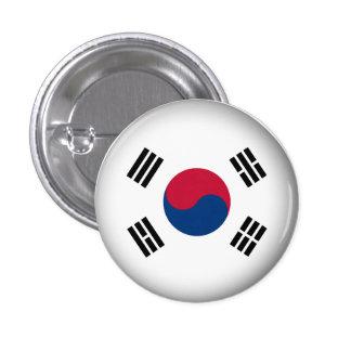 Corea del Sur redonda Pins