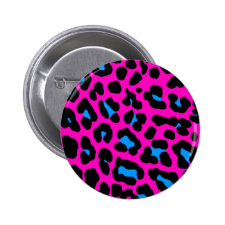 Corey Tiger 80s Vintage Pink Leopard Pins