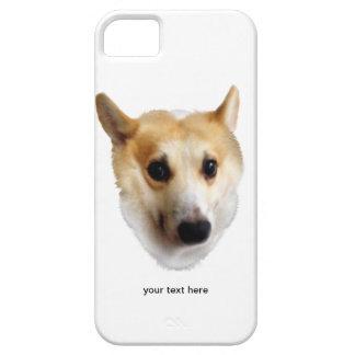 Corgi curioso iPhone 5 Case-Mate cobertura