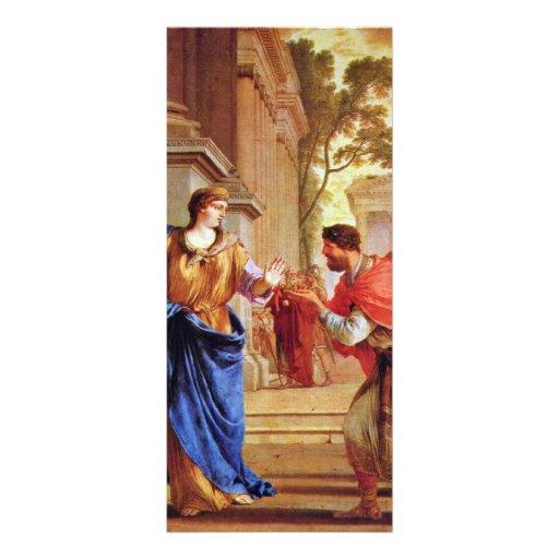 Cornelia rechaza la corona del Ptolemies por el La Lonas