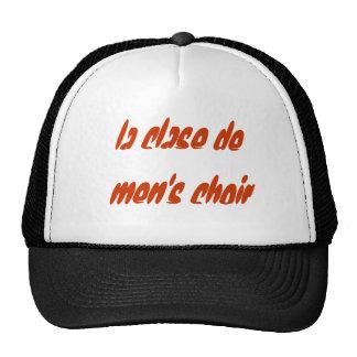 coro de la clase de men's gorros bordados