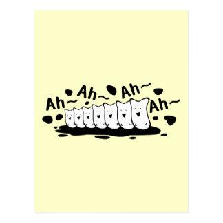 Coro divertido tarjetas postales