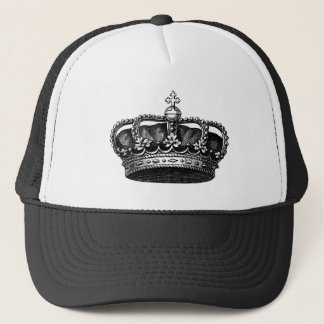 Corona 02 del vintage - negro gorra de camionero