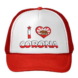 Corona CA Gorra