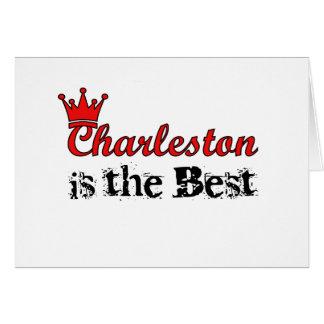 Corona Charleston Felicitacion