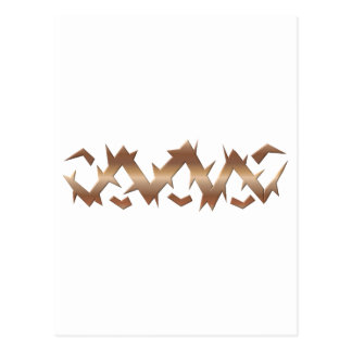 Corona de espinas - Viernes Santo Postal