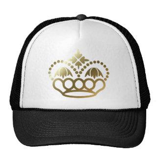 Corona de oro gorro