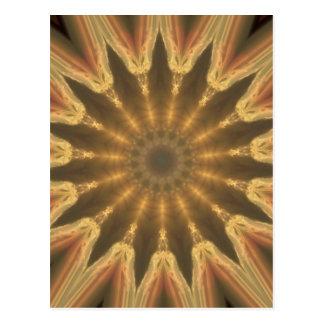 Corona de oro postal