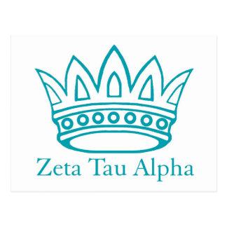Corona de ZTA con ZTA Postal