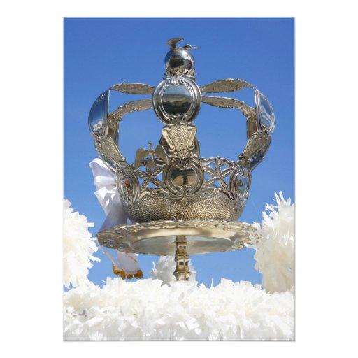 Corona del Espíritu Santo Invitaciones Personalizada
