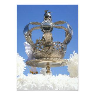Corona del Espíritu Santo Invitación 12,7 X 17,8 Cm