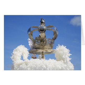 Corona del Espíritu Santo Tarjeta De Felicitación