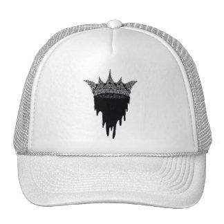 Corona del goteo gorros bordados