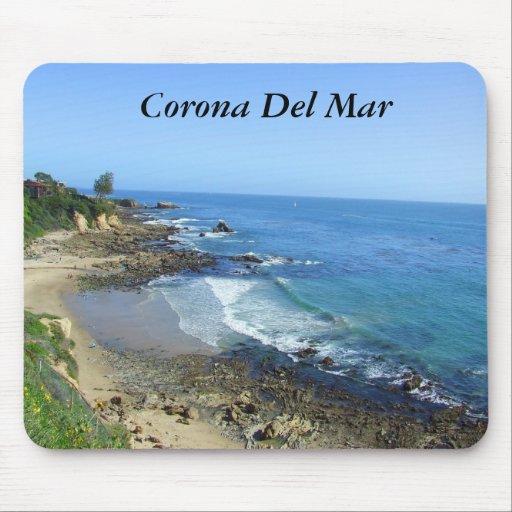 Corona del Mar California Mousepad Alfombrillas De Ratones