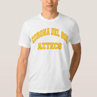Corona del Sol Aztecs Camisas