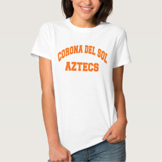 Corona del Sol Aztecs Camiseta
