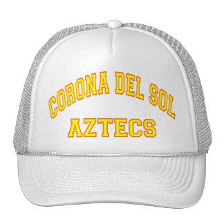 Corona del Sol Aztecs Gorro De Camionero
