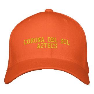 Corona del Sol Aztecs Gorra Bordada