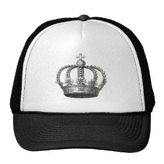 Corona del vintage gorros bordados