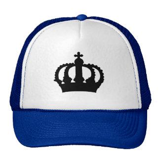 Corona en azul gorro de camionero