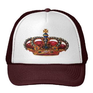 corona roja gorro