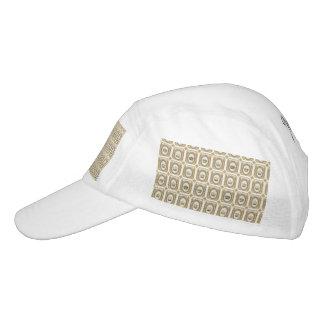 Coronas francesas enmarcadas gorra de alto rendimiento