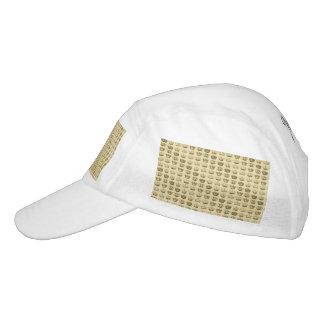 Coronas reales del oro gorra de alto rendimiento