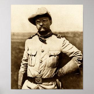 Coronel Theodore Roosevelt Póster