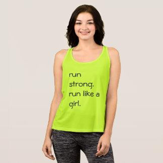 Corra como una camisa del chica