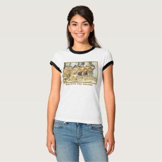 Corra con los lobos, foto del paquete grande de camiseta